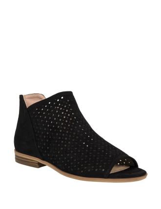 Ankle Peeptoe Cutout Shoe