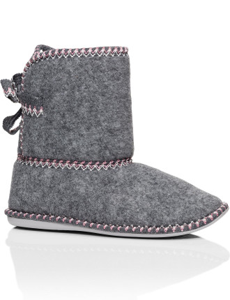 Stitch Boot Slippers