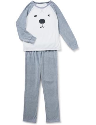 Print Fleece Pyjamas