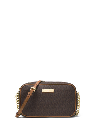 JET SET MEDIUM LOGO CROSSBODY