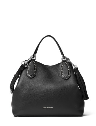 BROOKLYN LARGE LEATHER TOTE