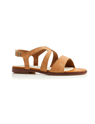Sashi Leather Sandal Tan