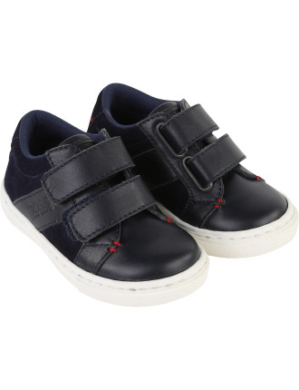 Leather Double Velcro Sneaker