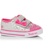Twinkle Toes Shuffles Sweet Steps Light Up Velcro Tab Shoe $59.95