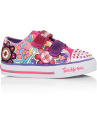 Twinkle Toes Shuffles Sweet Talk Light Up Velcro Tab Shoe $59.95