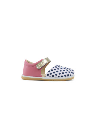 IW Twist Closed sandal Peony with Spots