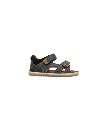 IW Wave sandal Charcoal