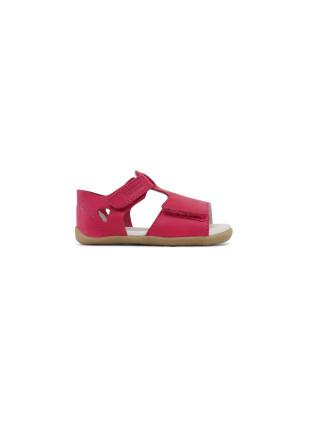 SU Mirror Open Sandal Fuchsia