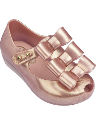 MINI MELISSA ULTRAGIRL TRIPLE BOW BB DRESS SHOES