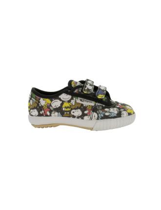 Peanuts Low Velcro Sneaker