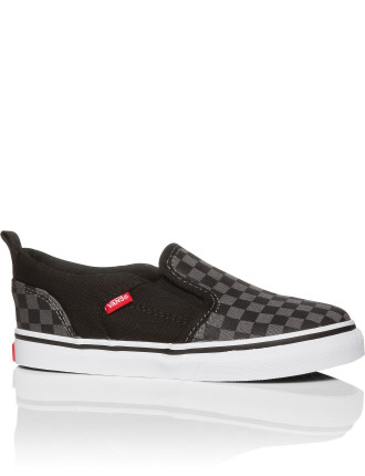 Asher V Checkers Slip On Sneaker