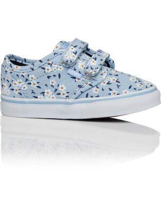 Atwood V Flower Velcro Canvas Sneaker