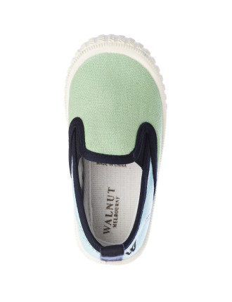 Charlie Cruise Palm Tree Canvas Slip On