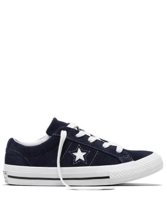 Converse One Star Junior Suede Sneaker