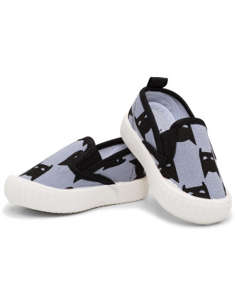Walnut Classic Charlie Canvas Shoe