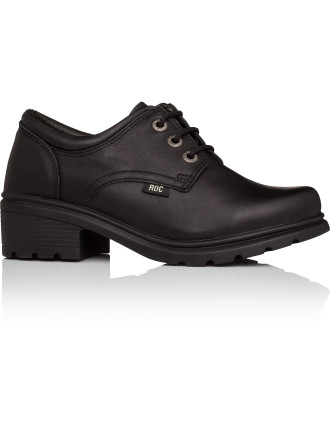 Caper Senior Lace Up School Shoe