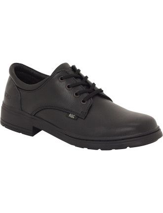 Larrikin Senior Lace Up School Shoe