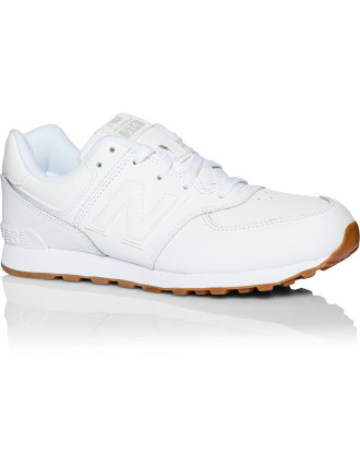 Kl574g8p/G Athletic Laceup Leather Trainer