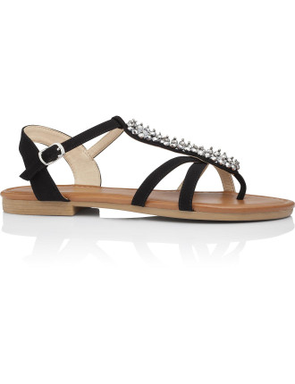 Zoe Jeweled Sandal