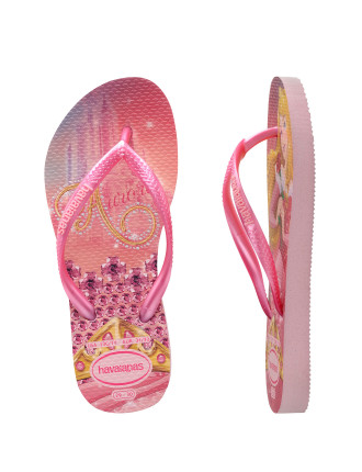 Kids Slim Princess Crystal Rose/Shocking Pink
