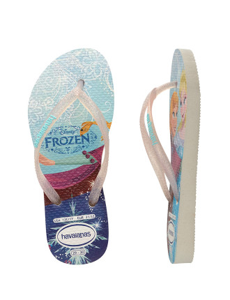 Kids Slim Princesss (Frozen) White