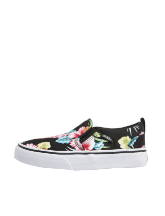 Asher Tropical Floral Slip On Sneaker