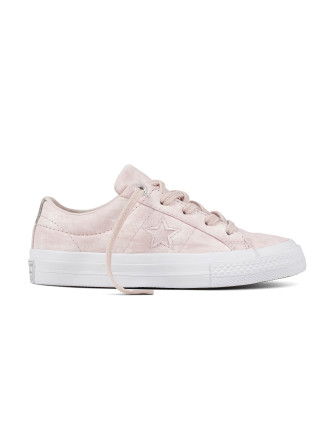 One Star Peached Wash Sneaker