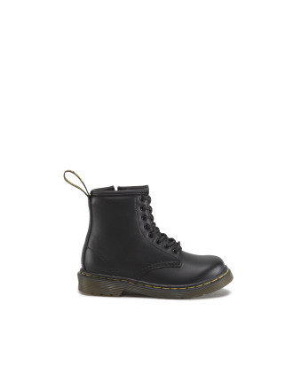 Delaney Lace Bt Zip Blk Kids