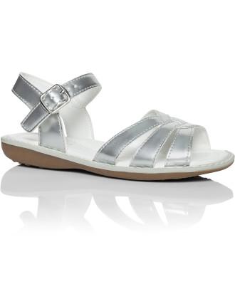 Pearl Pu Sandal W/ Buckle