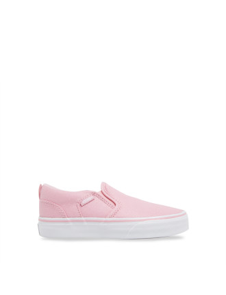 Asher Metallic Pastel Slip On Sneaker
