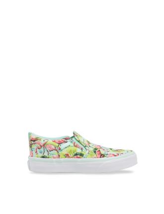 Asher Flamingo Slip On Sneaker