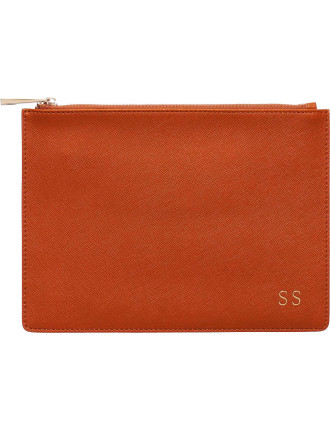 Burnt Orange Pouch