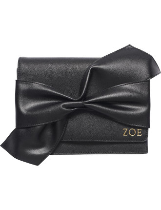 Black Twist Bow Clutch