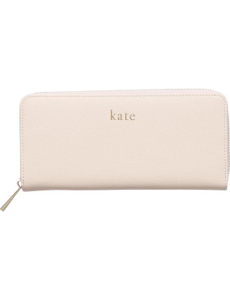 Pale Pink Continental Wallet