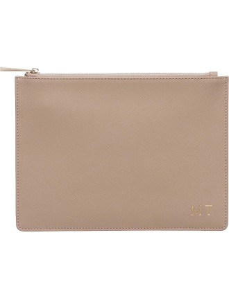 Taupe Pouch