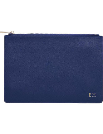 Midnight Navy Large Pouch