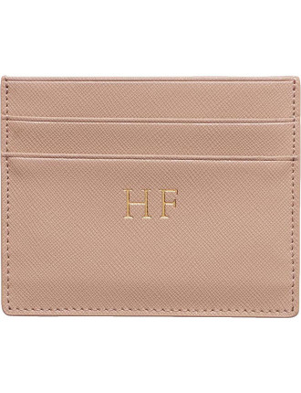 Taupe Double Cardholder