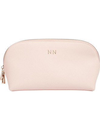 Pale Pink Large Cosmetic Case