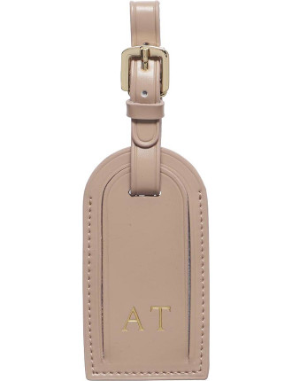 Taupe Luggage Tag