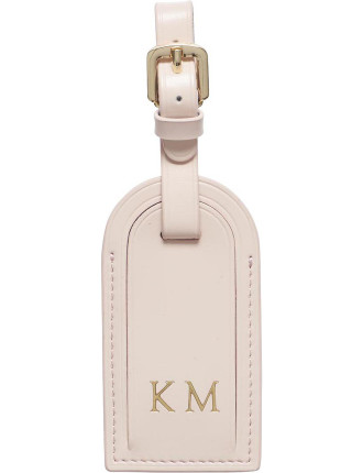 Pale Pink Luggage Tag