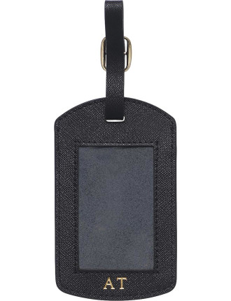 Black Window Luggage Tag