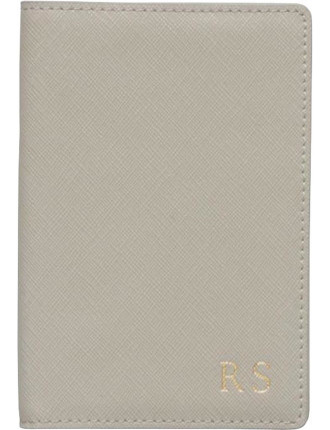 Storm Grey Passport Holder