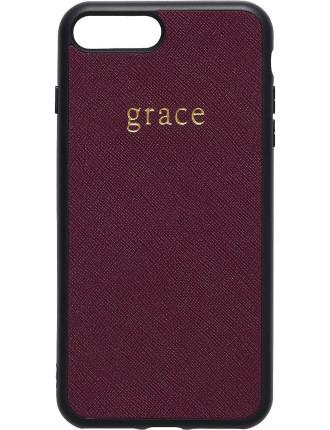Burgundy Iphone 7 Plus Case