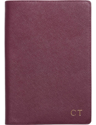 Burgundy A5 Notebook Holder