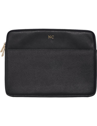 Black Laptop Case With Front Pocket