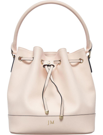 Pale Pink Bucket Bag