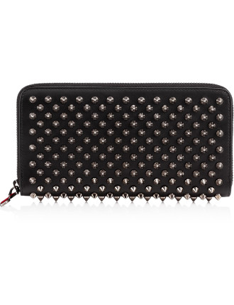 W Panettone Wallet Calf P/Spikes