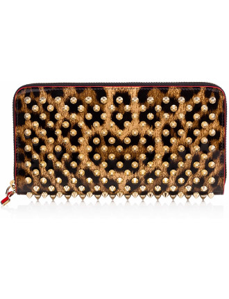 W Panettone Wallet Pat Leo 50S/Spikes