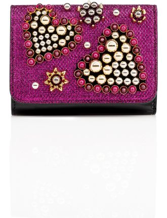 Macaron Wallet With Flap
