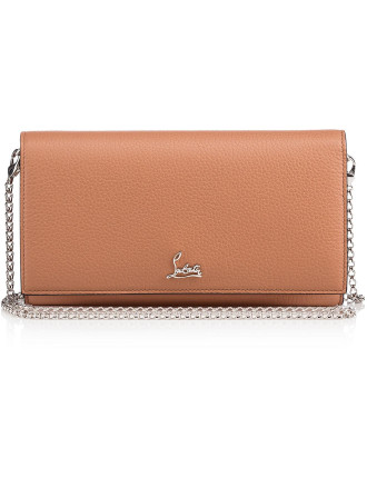 W Boudoir Chain Wallet Calf